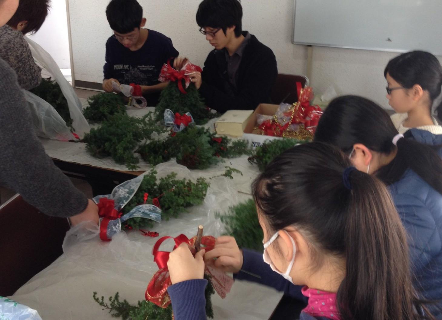 クリスマス制作